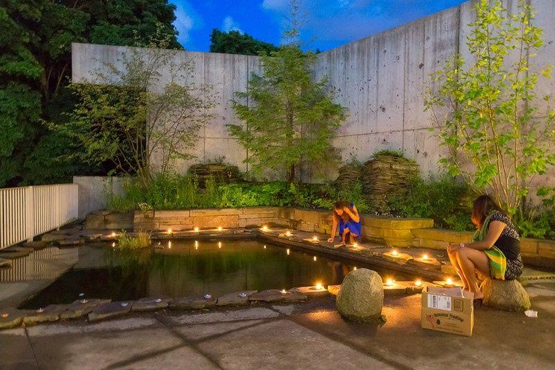 Evening Gorge Garden
