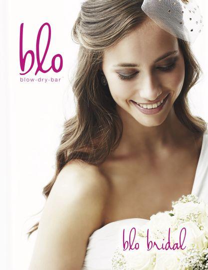Blo bridal hair and makeup