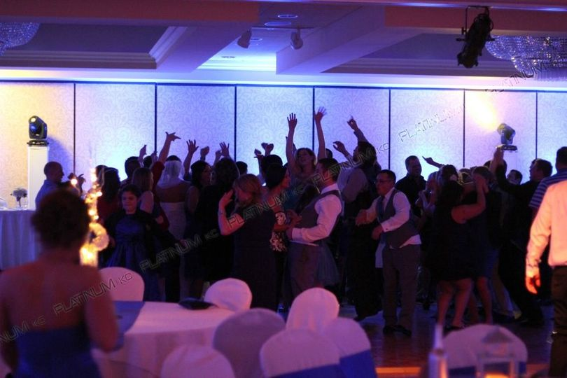wedding reception ceremony argosy casino kansas