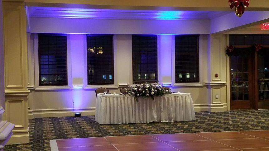 Classic banquet wedding