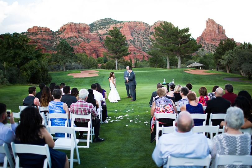 Wedding Ceremony in Sedona, AZ