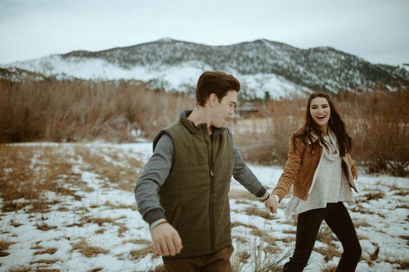 Snowy Adventure Engagements