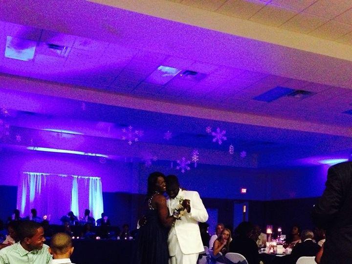 Tmx 1389764208753 Lighting With Snowflake Chicago wedding eventproduction