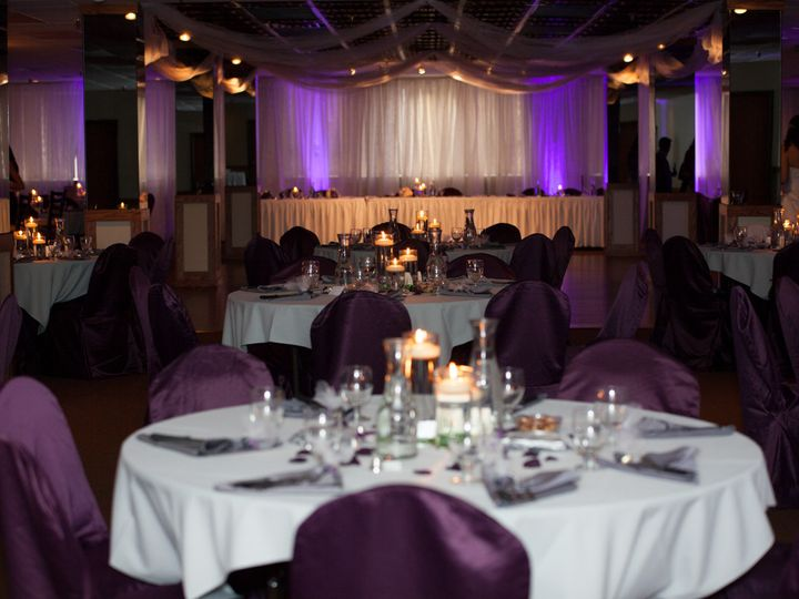 Tmx 1389764212106 Purple Wedding Reception Lightin Chicago wedding eventproduction