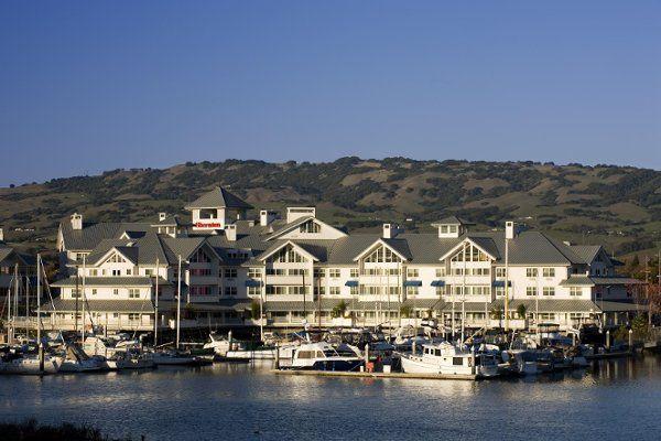 Hotel is right on the Petaluma Marina