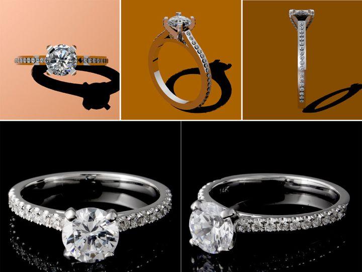 Tmx 1462916668784 Engagement Los Angeles wedding jewelry