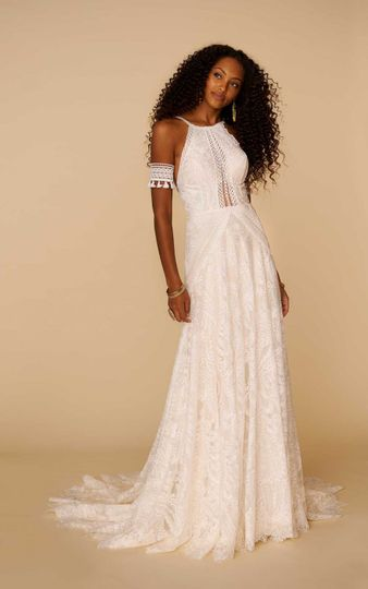 Stunning boho gown