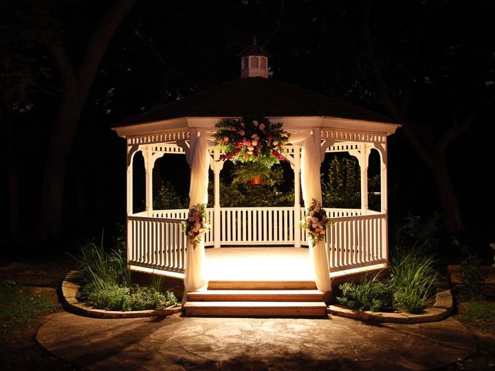Tmx 1357458065656 GazeboatnightatChateauJessesEMAIL Round Rock, TX wedding venue