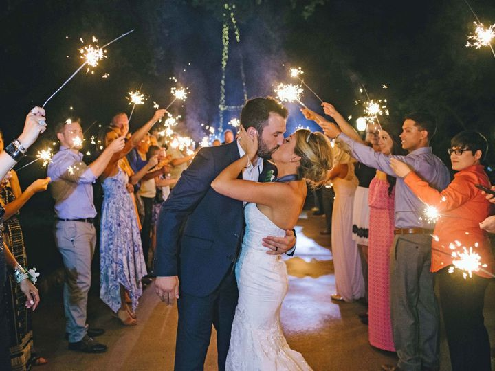 Tmx 1510033451727 Kissing Under Sparklers Round Rock, TX wedding venue