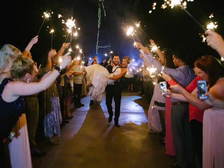 Tmx 1510033947326 Sparkler Send Off Carrying Bride Round Rock, TX wedding venue