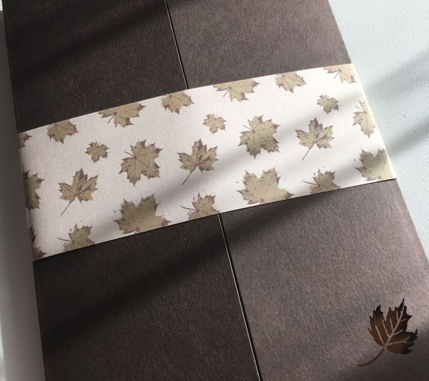 Custom printed bellyband