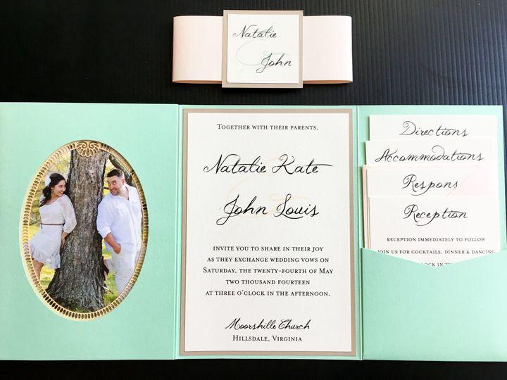 Tmx 1495085809527 Framepocketcard Sacramento, CA wedding invitation