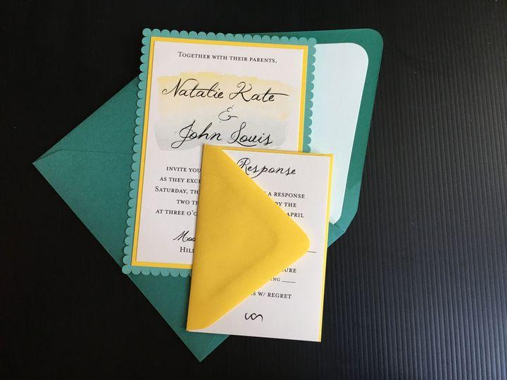 Tmx 1495085907785 Panelcardsuite Sacramento, CA wedding invitation