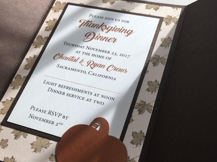 Tmx 1517278365 38b2b99386402bbb 1517278359 B8f225a79eb6077a 1517278335941 4 IMG 0928 Sacramento, CA wedding invitation