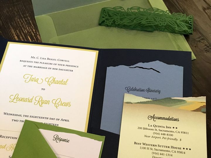 Tmx 1519157399 6b2c4963c0b87cad 1519157397 7a82766fef074149 1519157394771 3 IMG 0965 2 Sacramento, CA wedding invitation