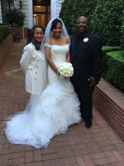 This lovely couple hired me almost a year ago...where does the time fly?  A beautiful ceremony at...