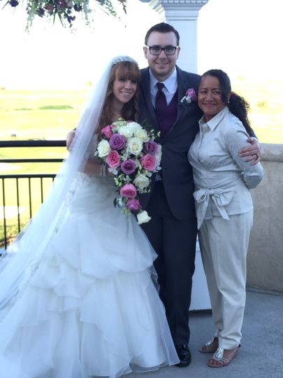 The Ritz-Carlton SF was the backdrop for this wedding ceremony--all glamour!  A very romantic early...