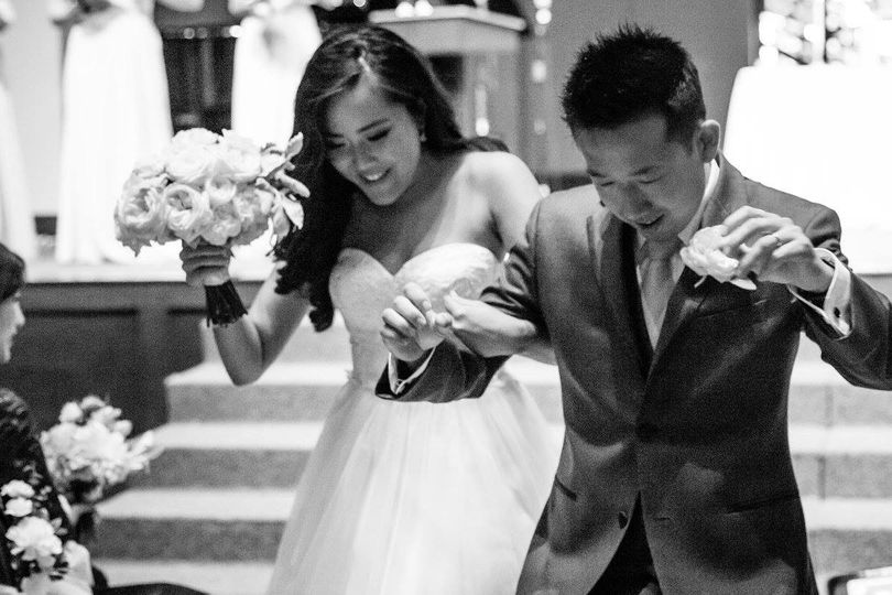 Wedding Coordination - Church Ceremony, Bridges San Ramon, Reception.  Congrats to Marina & James