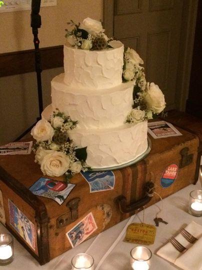 3 Tier Wedding Cake by the Woodstock Inn