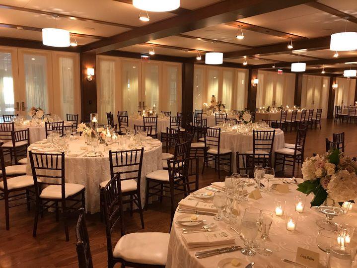 The Ballroom of the Woodstock Inn