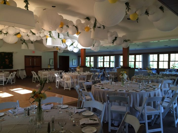 Reception at the Country Club at the Woodstock Inn