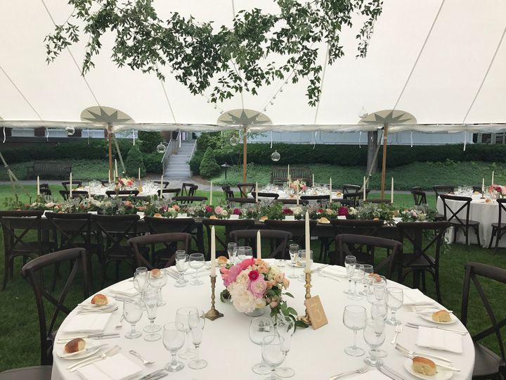 Tmx 1513882862711 Tent   Vt Crossback Chairs   Birds Of A Flower Woodstock, VT wedding venue