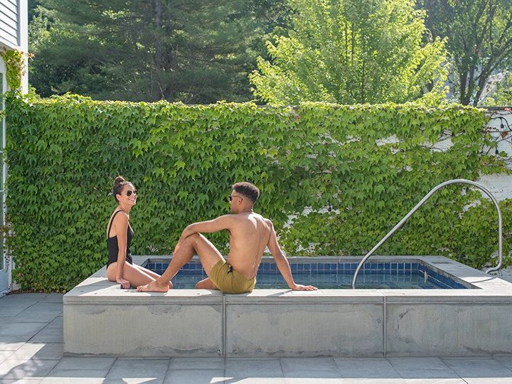 Tmx The Spa Outdoor 51 353259 158265685344634 Woodstock, VT wedding venue