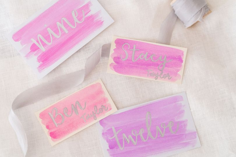 Watercolor paper goods