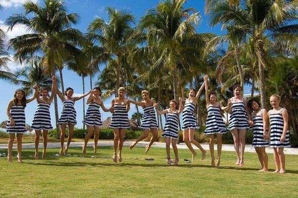 Tmx 1238789099862 1bridesmaidsstripes Fort Myers wedding videography
