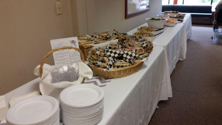 Buffet Set up