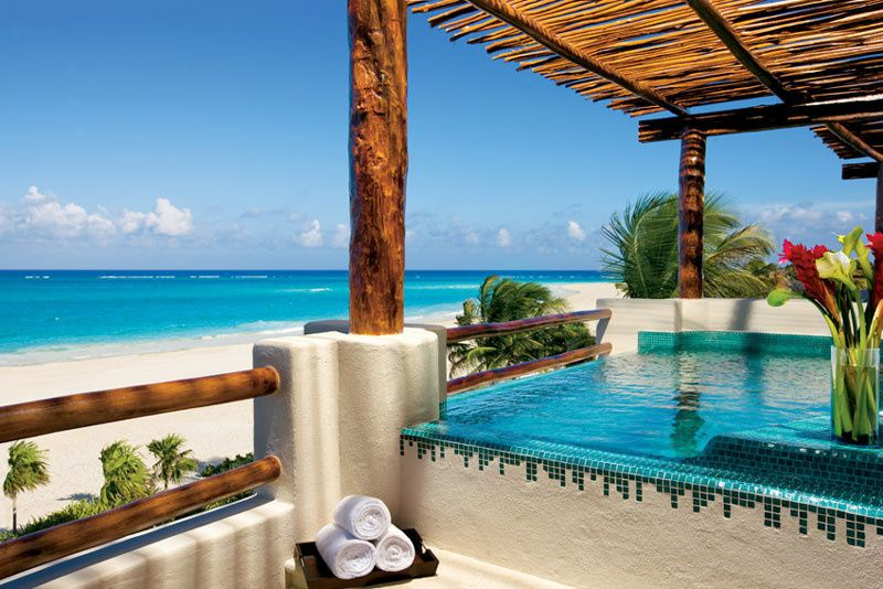 Mexico, honeymoon, Jacuzzi suite, Maroma Beach