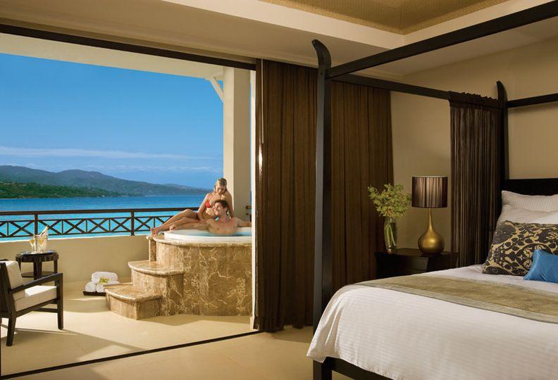 Honeymoon, Jamaica, Montego Bay, Jacuzzi