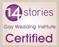 Proud graduate of the Gay Wedding Institute!