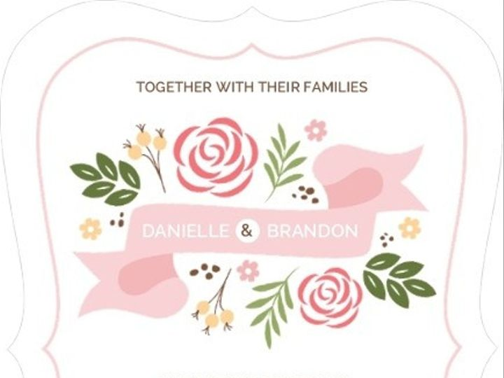 Tmx 1440787742858 Whimsical Garden Wedding Invitation33396582521larg Issaquah wedding invitation
