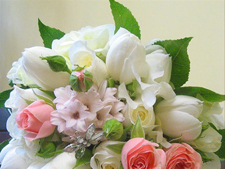 Tmx 1494004208800 Page2 White Tulips Pink Roses Bouquet Mendham, NJ wedding planner