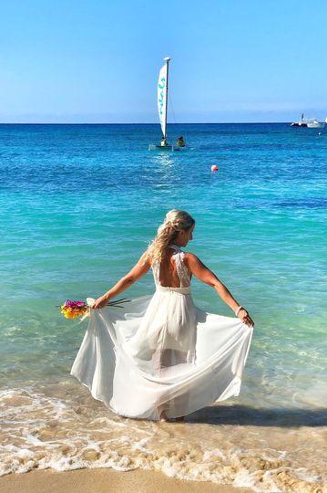 Celebrate in paradise