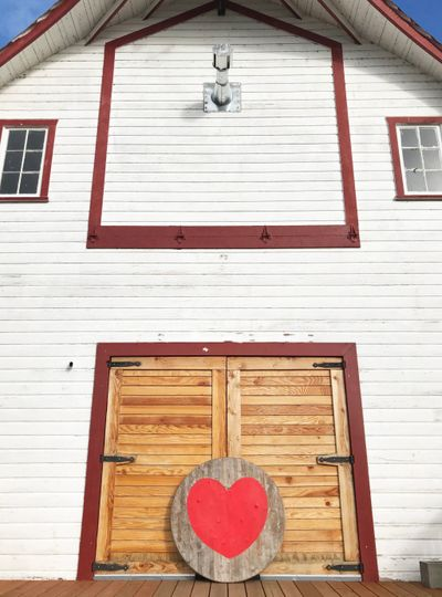 Truly a barn with heart