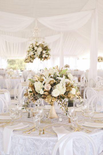 White decorations
