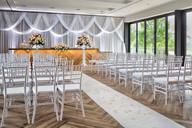 Indoor Wedding - Canopy