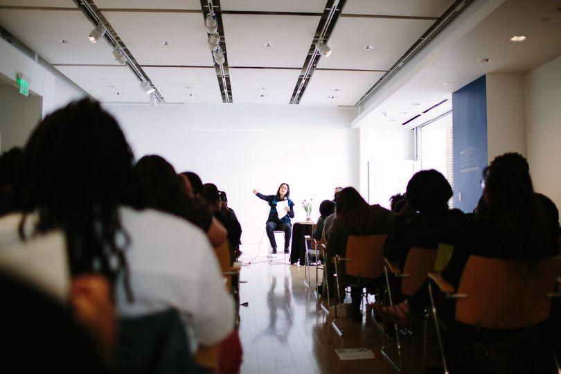 Symposium in the Salon