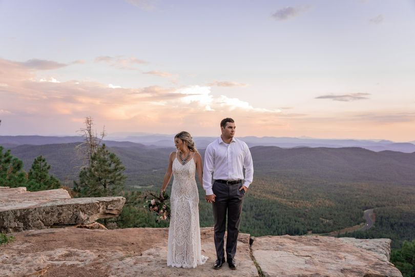 After ceremony sunset photos - Dear Heart Film + Portraits