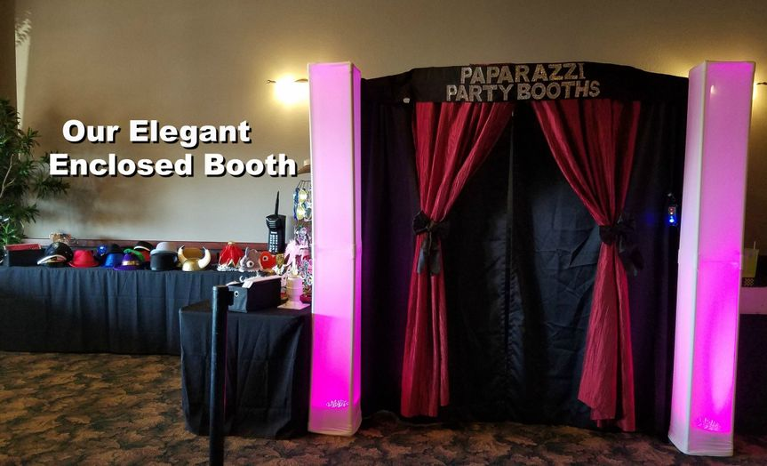 enclosed booth 1