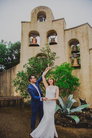 ATX wedding at Chapel Dulcinea