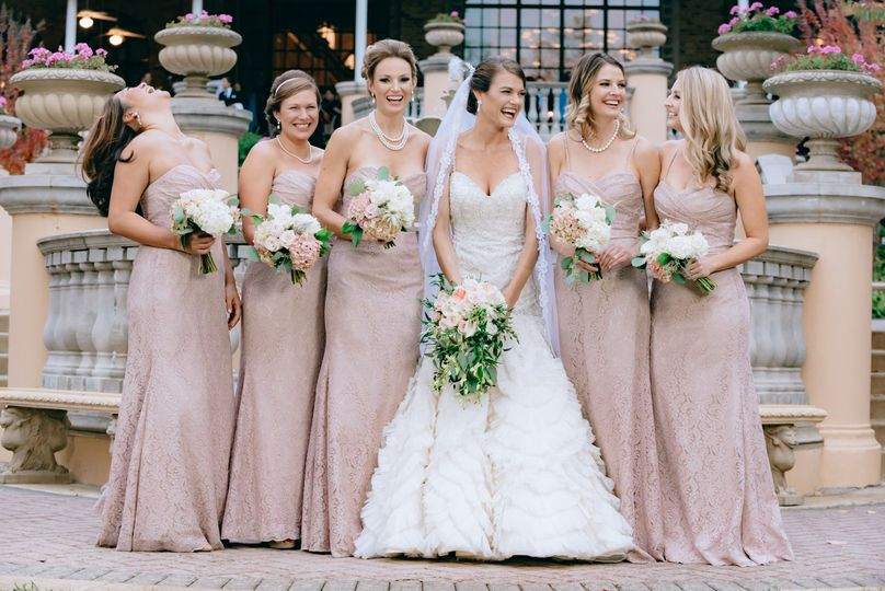 Omni Shoreham wedding - Bridesmaids