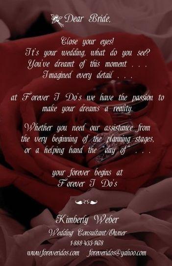 Forever I Do's by Kim