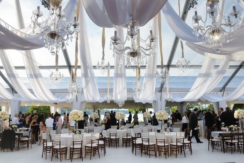 Private home wedding