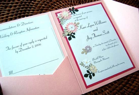 Tmx 1210858475251 Wirewedkaripink Lakeville wedding invitation