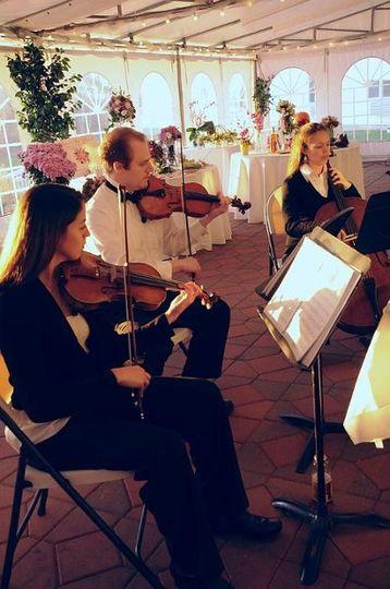 Jen Nash - Violin Bill Bell - Violin Andria Chase - Cello