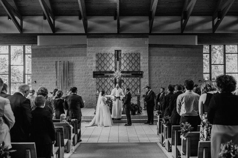 2018 Fall Church Wedding
