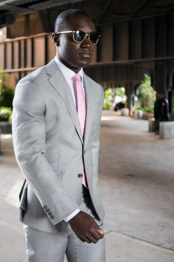 Enzo Custom Gray Suit